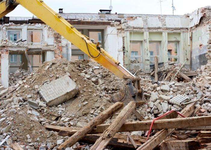 debris management services construction debris